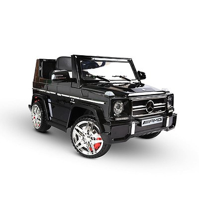 Kids Ride On Car MercedesBenz Licensed G65 12V Electric Black - Brand New - Free Shipping