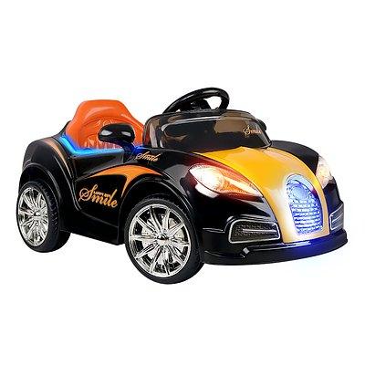 Rigo Kids Ride On Car  - Black & Orange
