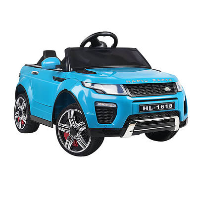 Kid's Electric Ride on Car Range Rover Evoque Style - Blue - Free Shipping