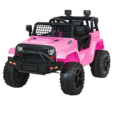 Kids Ride On Car Electric 12V Car Toys Jeep Battery Remote Control Pink - Brand New - Free Shipping
