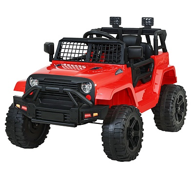 Kids Ride On Car Electric 12V Car Toys Jeep Battery Remote Control Red - Brand New - Free Shipping