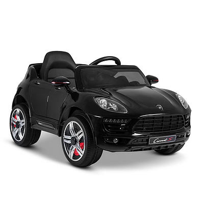 Kid's Electric Ride on Car Porsche Macan Style - Black - Free Shipping