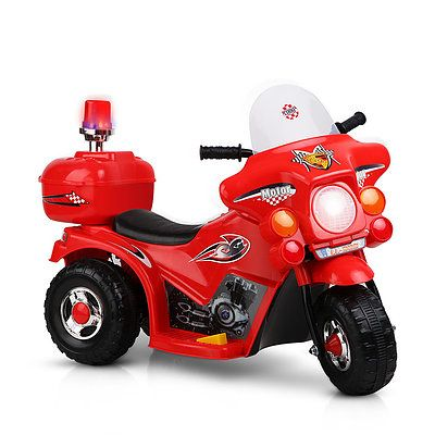 Kids Ride On Motorbike Motorcycle Car Red - Brand New - Free Shipping