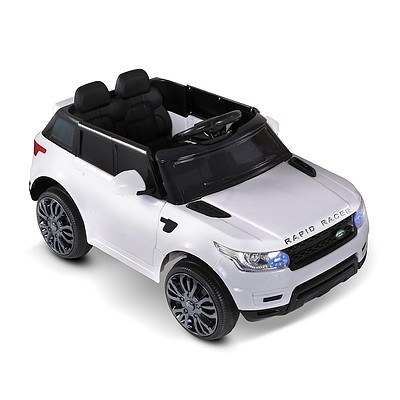 Kids Ride On Car - White - Free Shipping