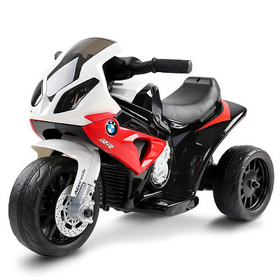 Kids Ride On Motorbike BMW Licensed S1000RR Motorcycle Car Red - Brand New - Free Shipping