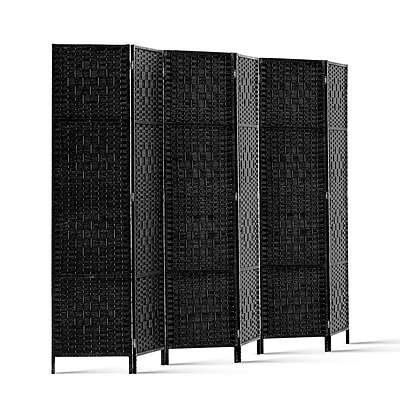6 Panel Room Divider - Black - Brand New - Free Shipping