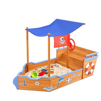 Boat Sand Pit With Canopy - Brand New - Free Shipping