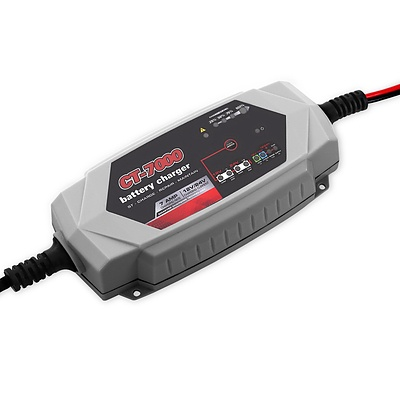 Smart Battery Charger 7A 12V 24V Automatic SLA AGM Car Truck Boat Motorcycle Caravan - Brand New - Free Shipping