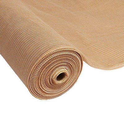 Instahut 1.83 x 10m Shade Sail Cloth - Beige - Free Shipping