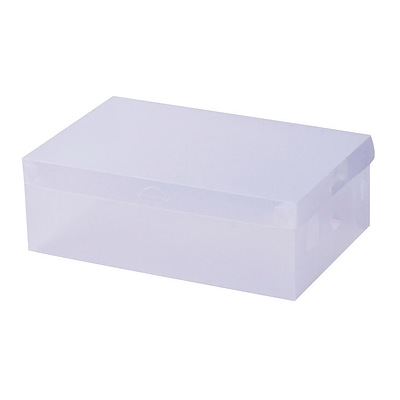 40pcs Clear Shoe Storage Box Transparent Foldable Stackable Boxes Organize Home - Brand New - Free Shipping