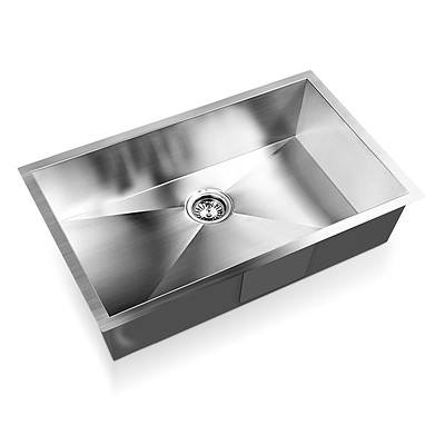 Stainless Steel Kitchen/Laundry Sink with Strainer Waste 700x450mm - Brand New - Free Shipping