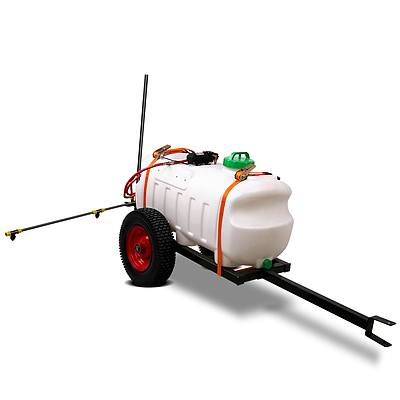 100L ATV Weed Sprayer Spot Spray Tank 1.5m Boom - Free Shipping