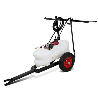 60L ATV Weed Sprayer Garden Farm Pump 1.5M Boom - Free Shipping