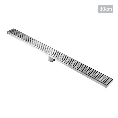 Square Stainless Steel Shower Grate Drain Floor Bathroom 800mm - Brand New