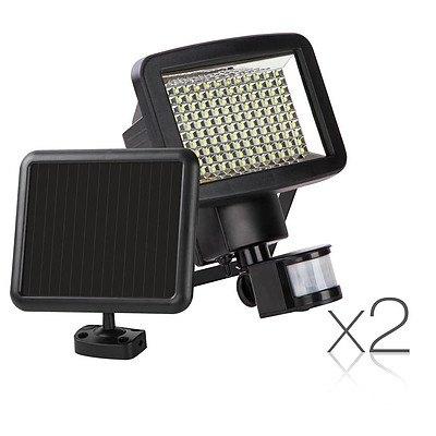 Set of 2 120 LED Solar Powered Sensor Light - Brand New - Free Shipping