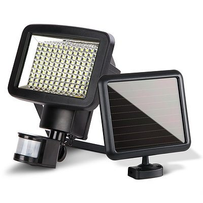 120 LED Solar Sensor Outdoor Light - Free Shipping