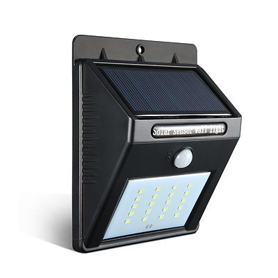 Set of 2 LED Solar Powered Motion Sensor Lights - Free Shipping