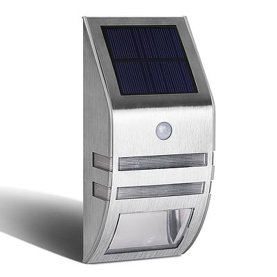 Set of 4 Solar Powered Security Lights - Free Shipping