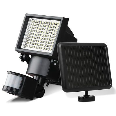 Set of 2 100 LED Solar Sensor Light  - Free Shipping