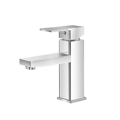 Basin Mixer Tap Faucet Bathroom Vanity Counter Top WELS Standard Brass Silver