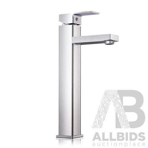 Cefito Basin Mixer Tap Faucet Silver - Free Shipping