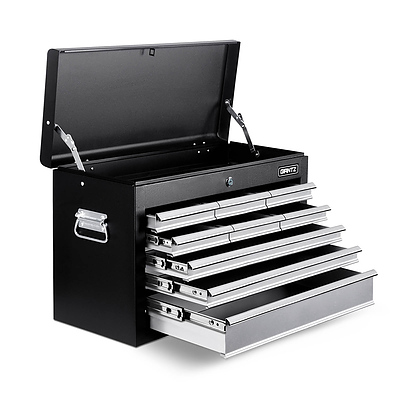 9 Drawers Tool Box Chest Black/Grey - Brand New - Free Shipping