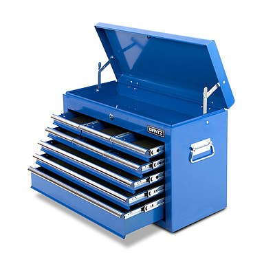 9 Drawers Tool Box Chest Blue - Brand New - Free Shipping