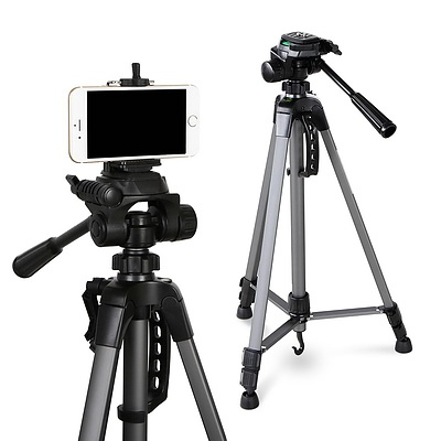 1.45M Professional Camera & Phone Tripod - Brand New - Free Shipping