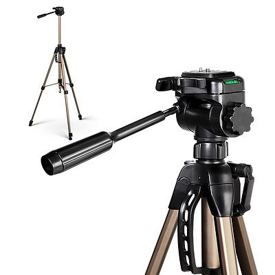 Dual Bubble Level Camera Tripod 160cm - Free Shipping