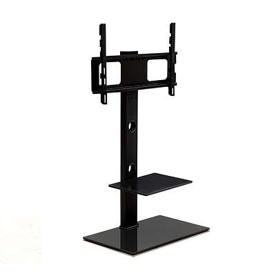 Floor TV Stand with Bracket Shelf Mount