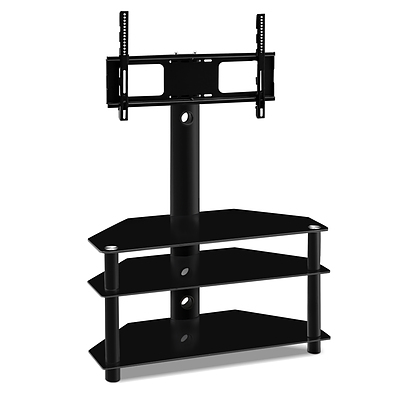 3 Tier Floor TV Stand with Bracket Shelf Mount - Free Shipping
