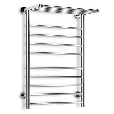 14 Rung Electric Heated Towel Rail - Free Shipping