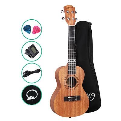 23 Inch Concert Ukulele Mahogany Ukeleles Uke Hawaii Guitar