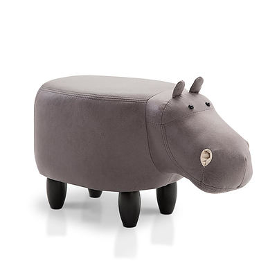 Kids Animal Stool - Grey - Free Shipping