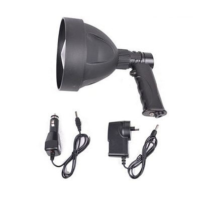 15W CREE LED Handheld Spot Light Rechargeable Spotlight Hunting Shooting T6 12V - Brand New - Free Shipping