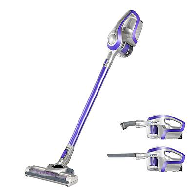 Cordless Stick Vacuum Cleaner - Purple & Grey - Brand New - Free Shipping