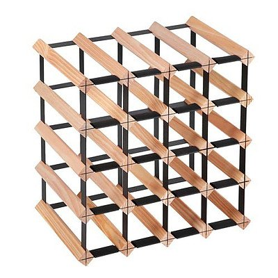 20 Bottle Timber Wine Rack - Free Shipping