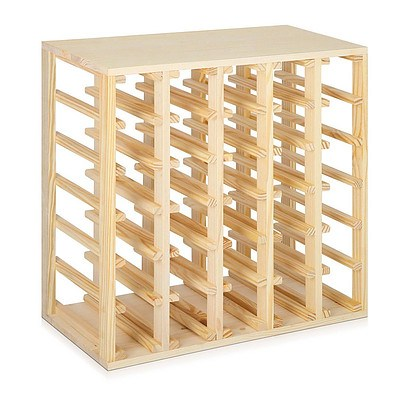 30 Bottle Timber Wine Rack - Free Shipping