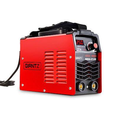Portable MMA Inverter Welder Stick ARC DC Metal Welding Machine 250Amp