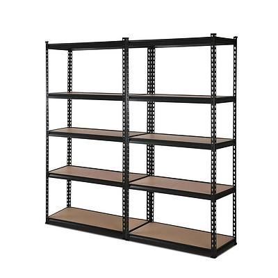 2x0.7M Warehouse Shelving Racking Storage Garage Steel Metal Shelves Rack - Brand New - Free Shipping