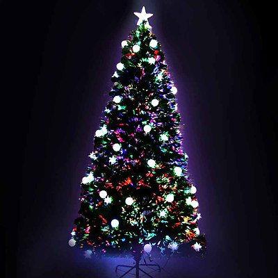 Jingle Jollys 1.8M 6FT LED Christmas Tree Multi Colour - Brand new - Free Shipping