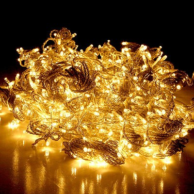 Christmas LED Curtain Lights - Brand New - Free Shipping