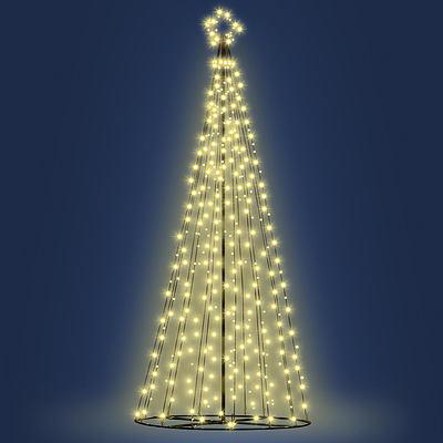 Jingle Jollys 3M LED Christmas Tree Lights 330pc LED Warm White - Free Shipping