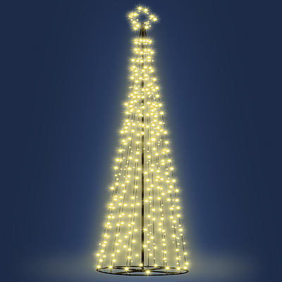 Jingle Jollys 3.6M LED Christmas Tree Lights 360pc LED Warm White - Free Shipping