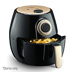 4L Oil Free Air Fryer - Black - Free Shipping