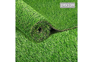 Artificial Sythentic Grass 1 x 10m 40mm - Natural - Brand New - Free Shipping