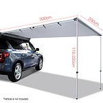 2X3M Car Awning  - Grey - Brand New - Free Shipping