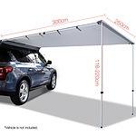 2.5X3M Car Awning  - Grey - Free Shipping