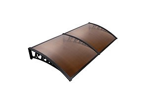 DIY Window Door Awning Shade 1 x 2m - Brown - Brand New - Free Shipping