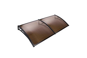 DIY Window Door Awning Cover Brown 100 x 200cm - Brand New - Free Shipping
